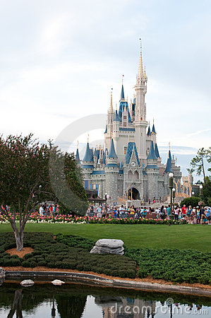 Cinderella s Castle Editorial Stock Image
