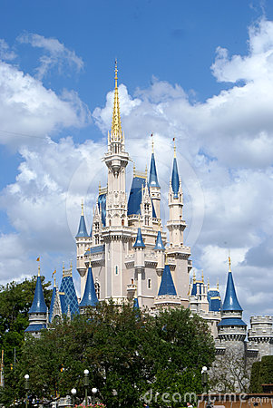 Cinderella s Castle Editorial Photography