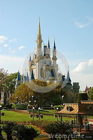 Cinderella s Castle Editorial Stock Photo