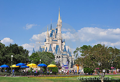 Cinderella s Castle - Disney World Editorial Stock Image