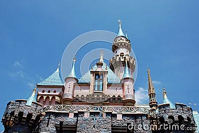 Cinderella s castle in disneyland Editorial Stock Photo