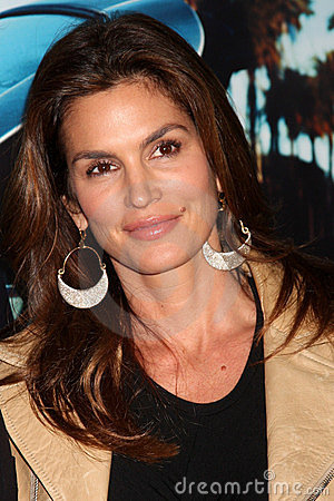 Cindy Crawford Editorial Photo
