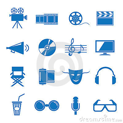 Free Cinema Royalty Free Stock Images - 23554819