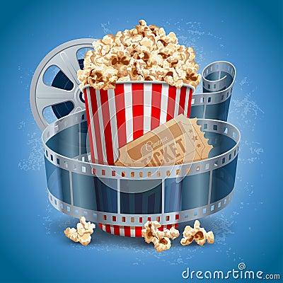Free Cinema Background Stock Images - 44071364