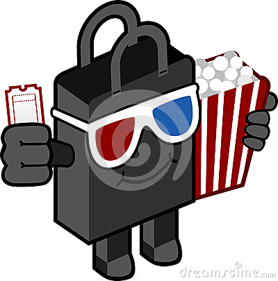 Cinema bag character