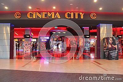 Cinema City Editorial Stock Image