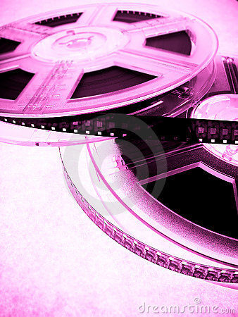 Cinema concept - Film reels