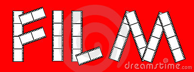 Cinema film frames