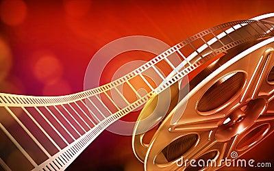 Cinema film reel