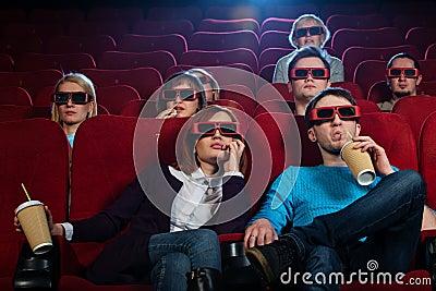 In a cinema