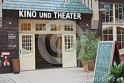 Cinema at Hackesche Höfe, Berlin Editorial Stock Photo