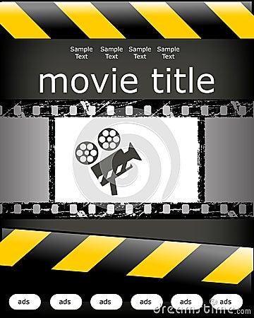 Cinema poster design