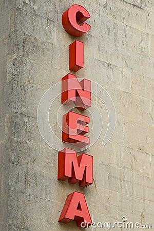 Cinema Sign