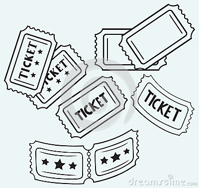 Free Cinema Ticket Royalty Free Stock Photography - 37858927