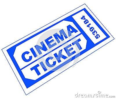 cinema ticket lookalike