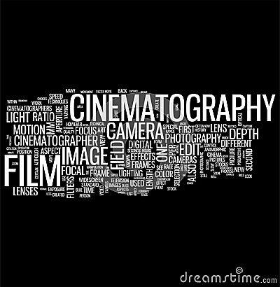 Cinematography on BLACK