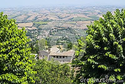 Cingoli (Macerata) - Panorama