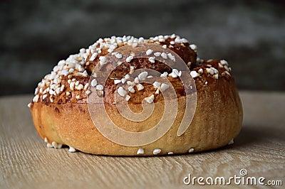 Cinnamon Bun Stock Photo - Image: 51453780