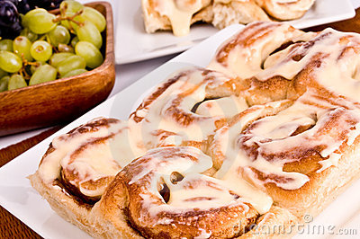 Cinnamon Rolls Royalty Free Stock Images - Image: 13664809