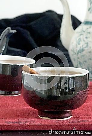 Cinnamon and tea