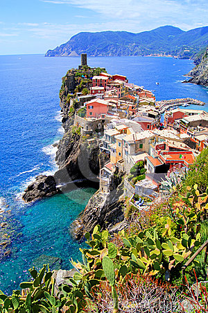 Free Cinque Terre Royalty Free Stock Photo - 24431335