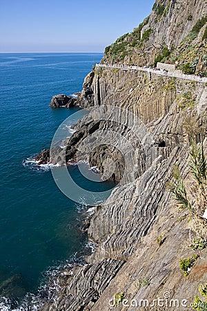Cinque Terre Cliff
