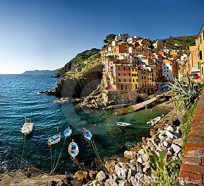 Free Cinque Terre, Italy Stock Photography - 18333492