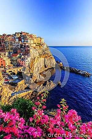Free Cinque Terre, Italy. Royalty Free Stock Photos - 53382178