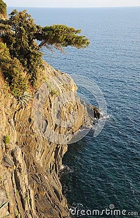 Cinque Terre lovers walk ITALY