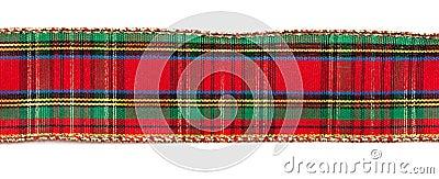 Cinta de la tela escocesa