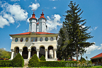 Ciolanu Monastery Editorial Photography