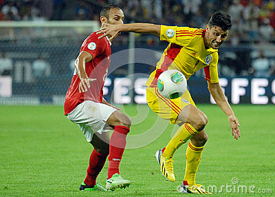 Ciprian Marica in Romania-Turkey World Cup Qualifier Game Editorial Image