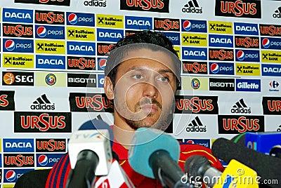 Ciprian Marica, romanian footballer Editorial Image