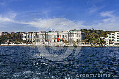 Ciragan Palace, Bosphorus Editorial Photography