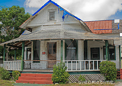 Circa 1800 s Cracker House