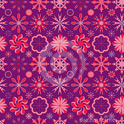 Circle Circus Style Seamless Pattern_eps