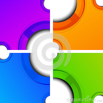 Circle color Background