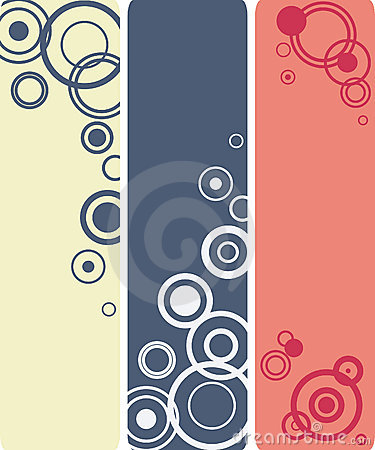 Circle compositions banners