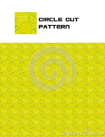 Free Circle Cut Pattern Royalty Free Stock Photography - 15689867