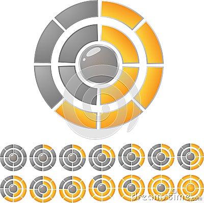 Circle download bar