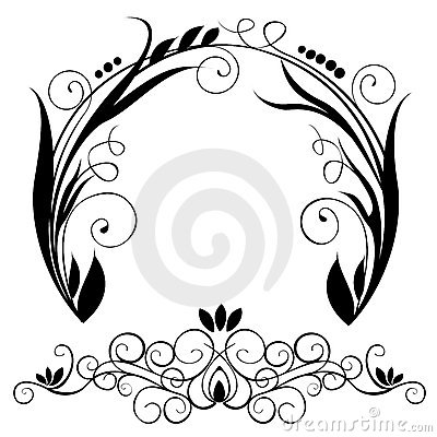 Free Circle Element Vector Royalty Free Stock Photography - 7334857