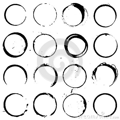 Free Circle Elements Set 01 Stock Photos - 35584703