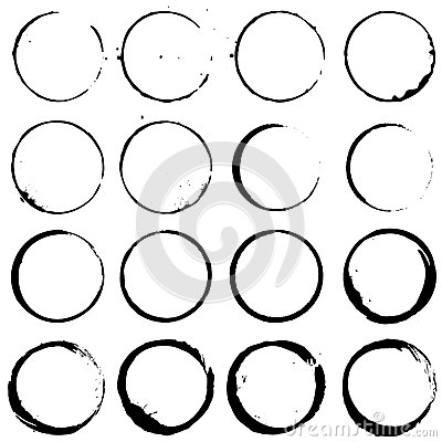 Free Circle Elements Set 02 Royalty Free Stock Image - 35584716