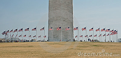 Circle of Flags, Washington Monument - 2