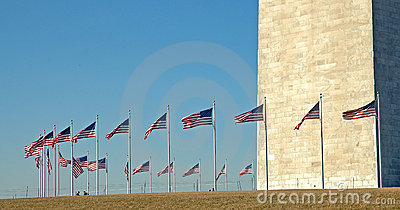 Circle of Flags, Washington Monument