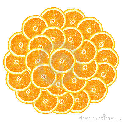 Free Circle From Oranges Royalty Free Stock Photos - 3785198