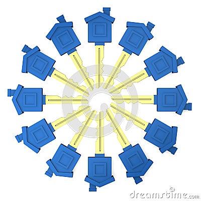 Circle of keys