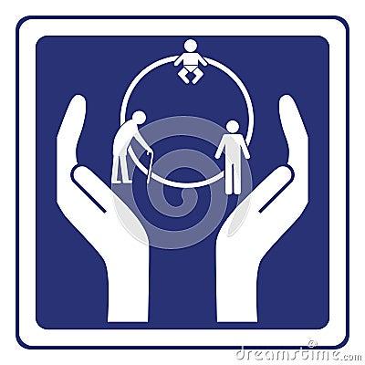 Circle of life sign