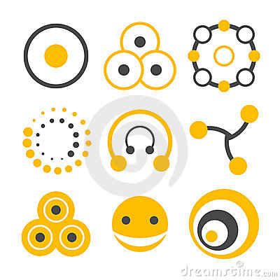 Free Circle Logo Elements Stock Images - 5698344