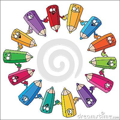 Circle pencils